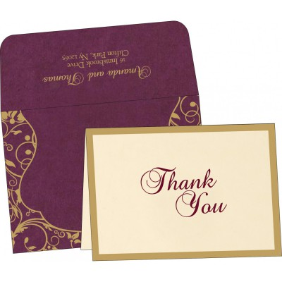 Thank You Cards - TYC-8229K