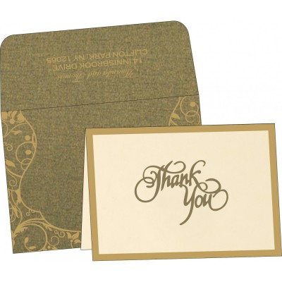 Thank You Cards - TYC-8229P
