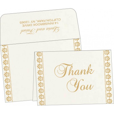 Thank You Cards - TYC-8231J