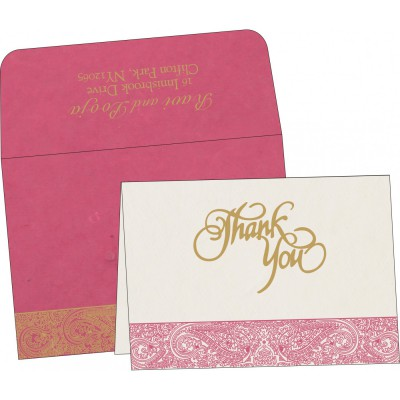 Thank You Cards - TYC-8234I