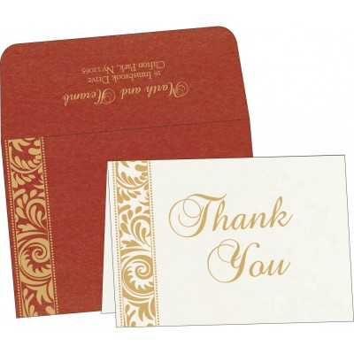 Thank You Cards - TYC-8235C