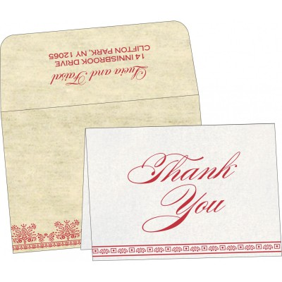 Thank You Cards - TYC-8241F
