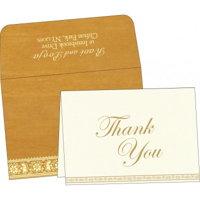Thank You Cards - TYC-8242D