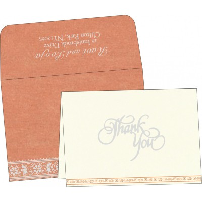 Thank You Cards - TYC-8242L