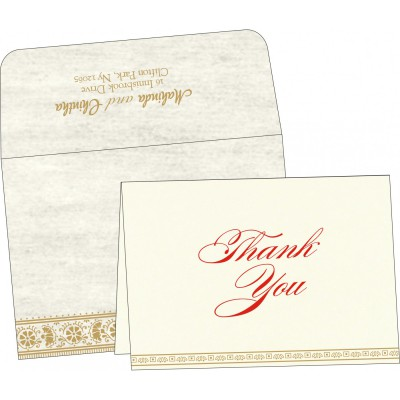 Thank You Cards - TYC-8242M