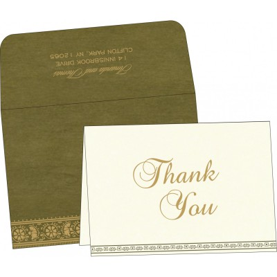 Thank You Cards - TYC-8242O