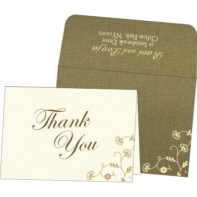 Thank You Cards - TYC-8248D