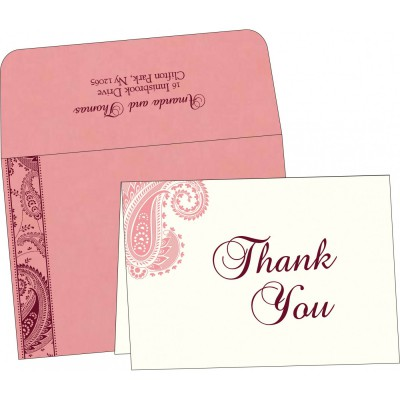 Thank You Cards - TYC-8250F