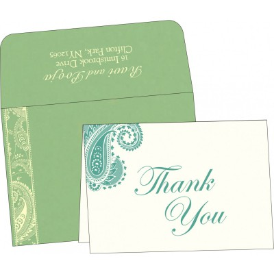 Thank You Cards - TYC-8250G