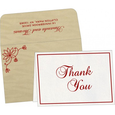 Thank You Cards - TYC-8251H