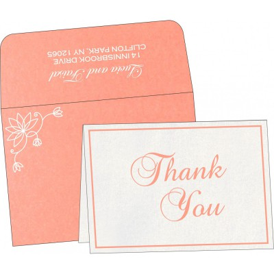 Thank You Cards - TYC-8251I