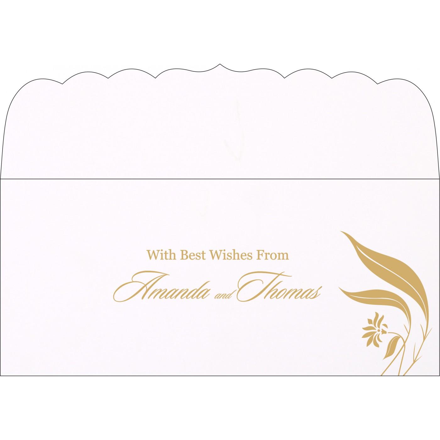 Money Envelopes : CME-1114 - IndianWeddingCards