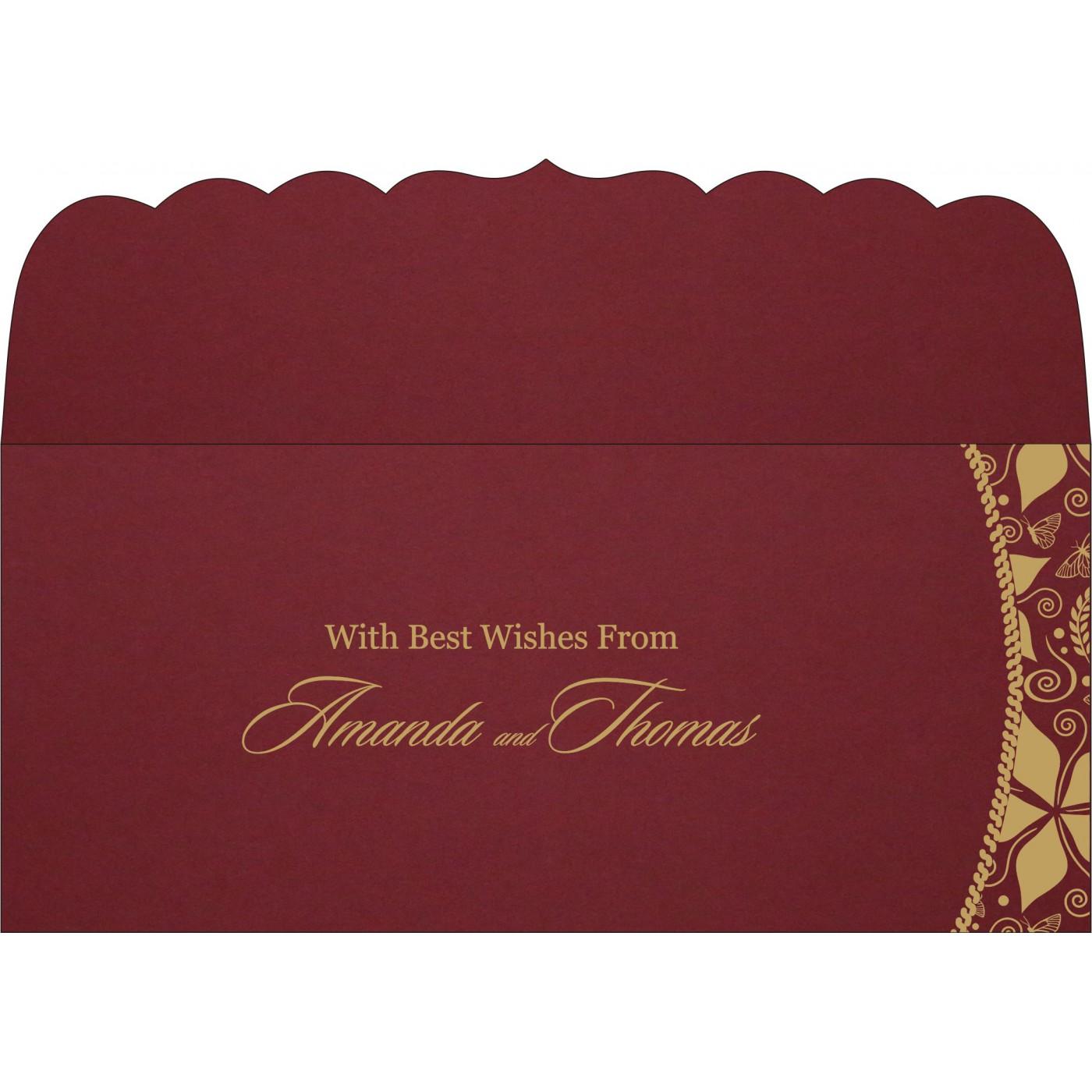 Money Envelopes : CME-1169 - IndianWeddingCards