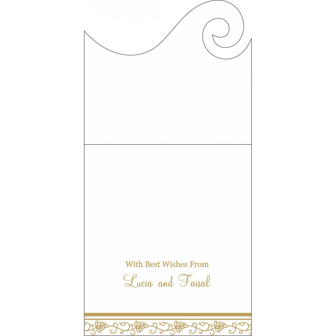 Money Envelopes : CME-1171 - IndianWeddingCards
