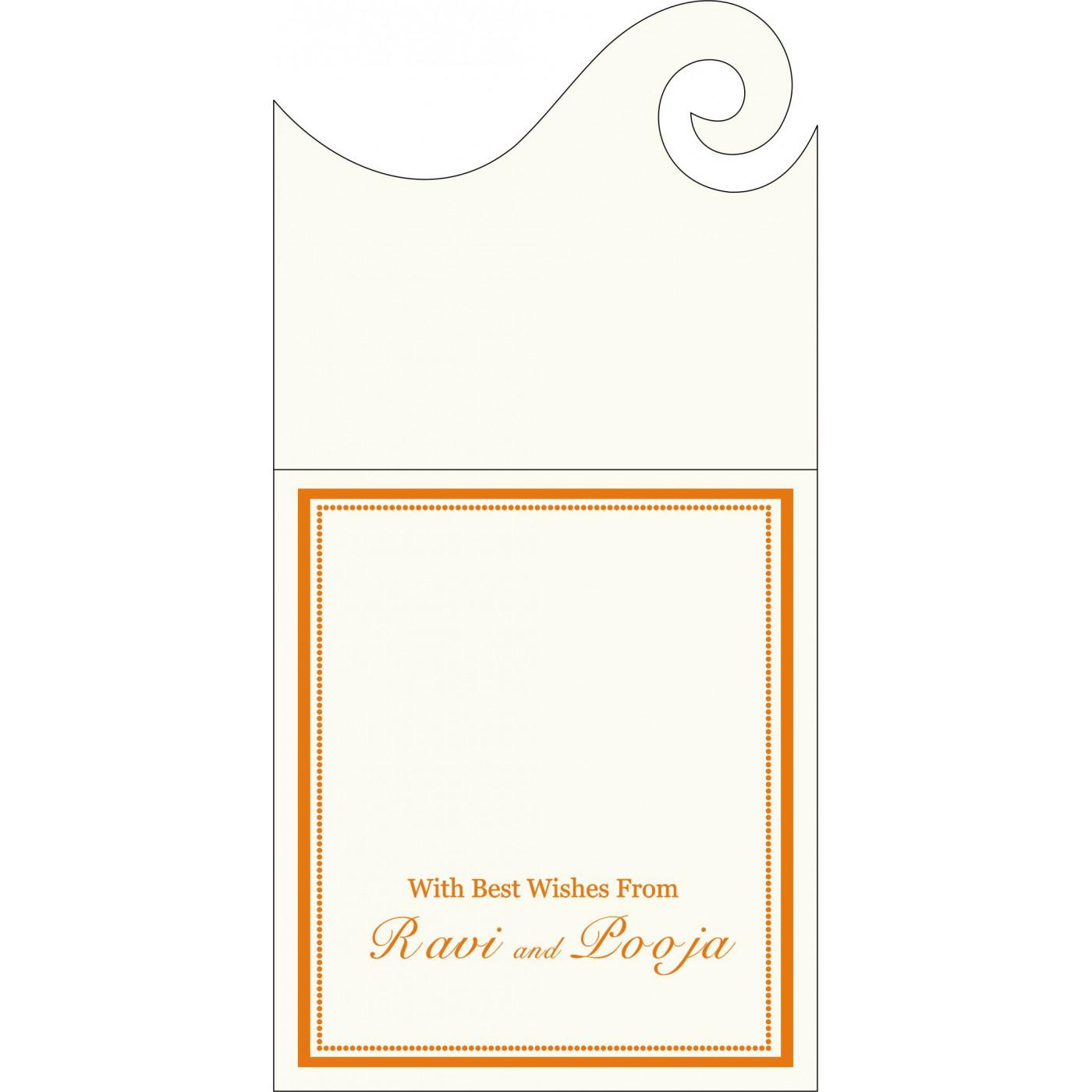 Money Envelopes : CME-1183 - IndianWeddingCards