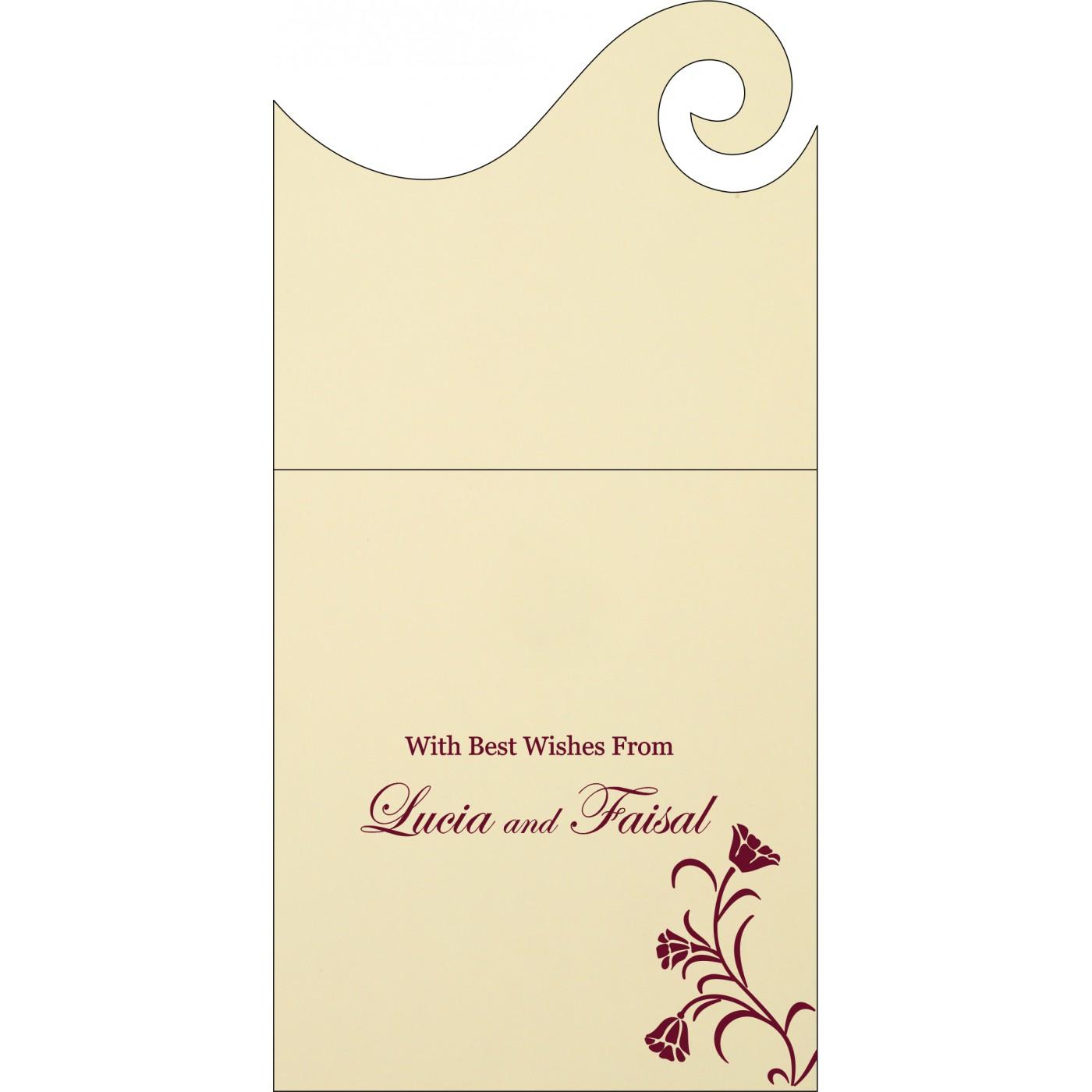 Money Envelopes : CME-1203 - IndianWeddingCards
