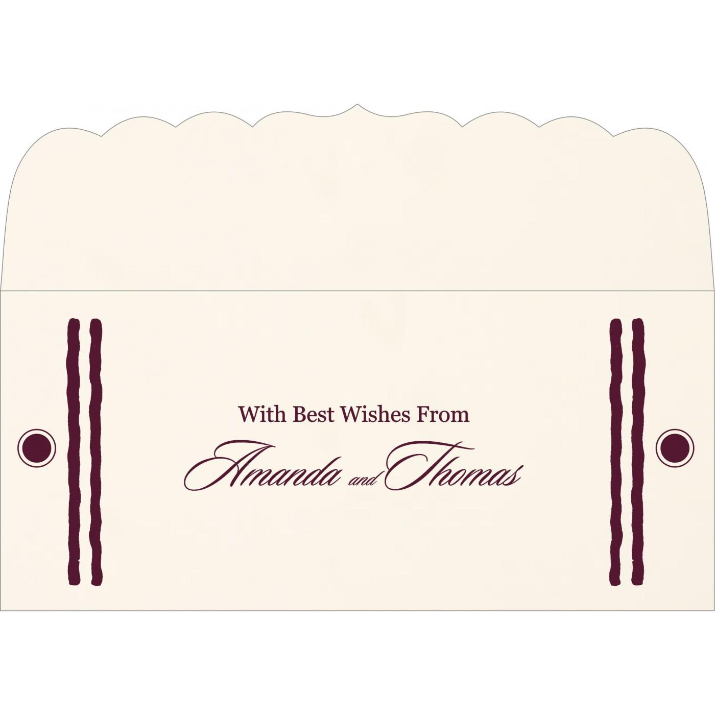 Money Envelopes : CME-1204 - IndianWeddingCards