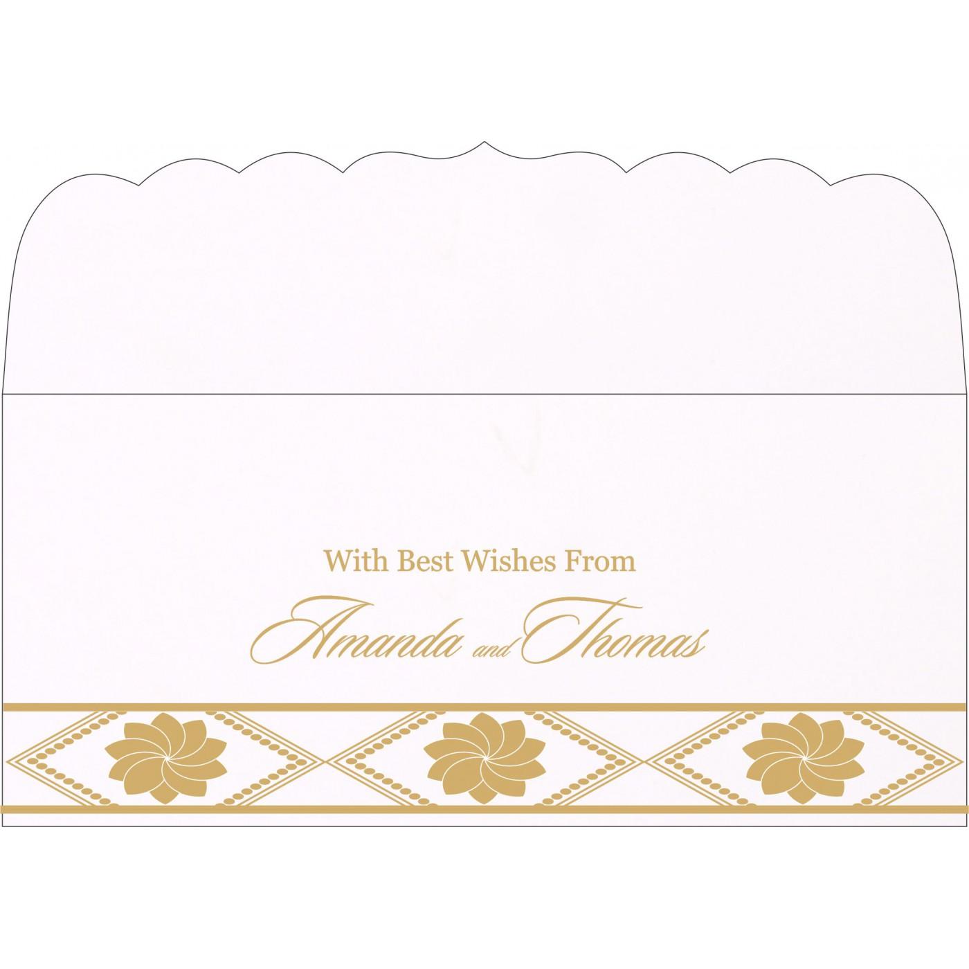 Money Envelopes : CME-1228 - IndianWeddingCards