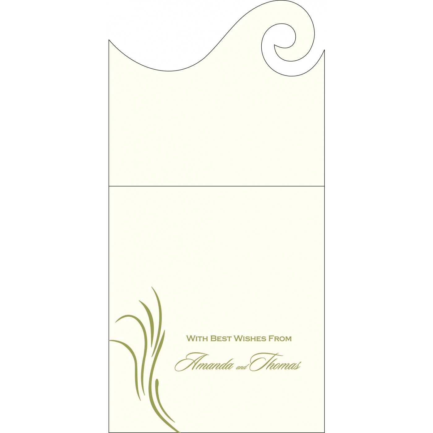 Money Envelopes : CME-1317 - IndianWeddingCards