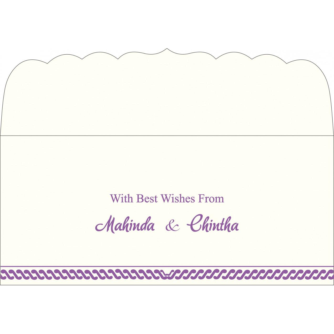 Money Envelopes : CME-1327 - IndianWeddingCards