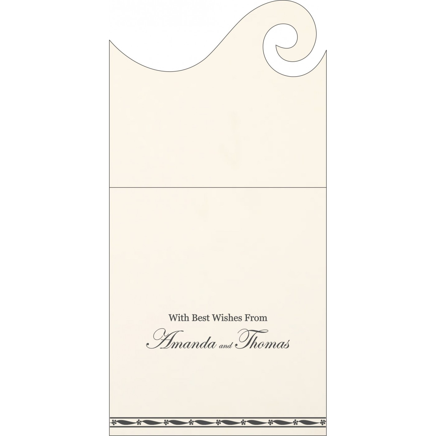 Money Envelopes : CME-1328 - IndianWeddingCards