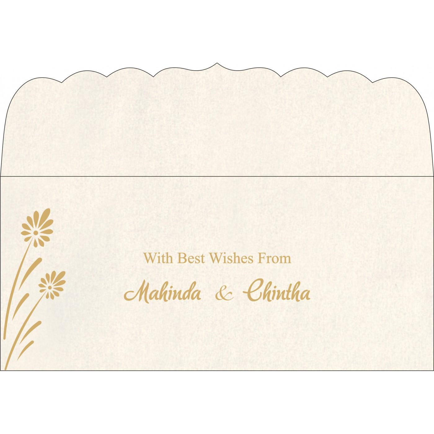 Money Envelopes : CME-1372 - IndianWeddingCards