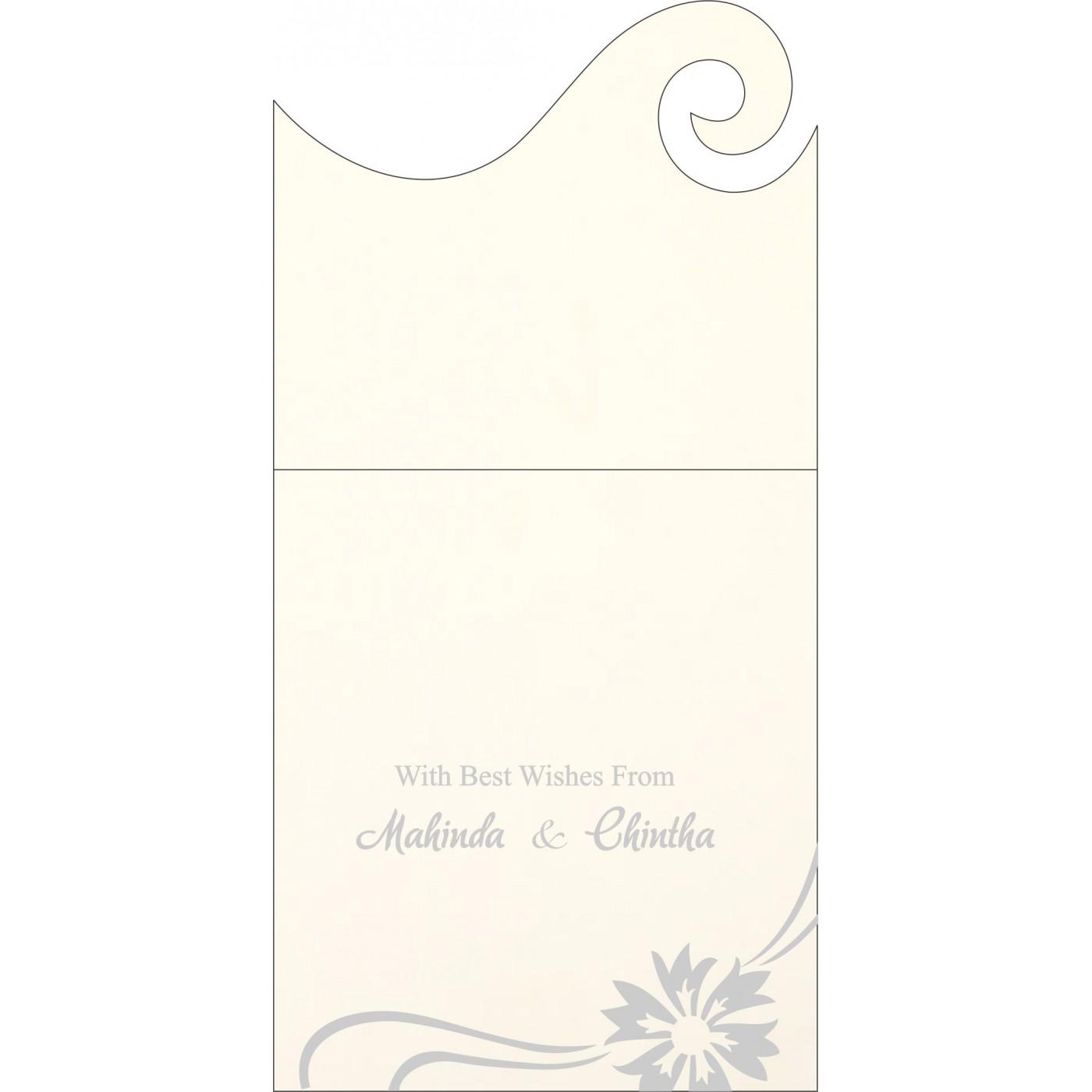 Money Envelopes : CME-1380 - IndianWeddingCards