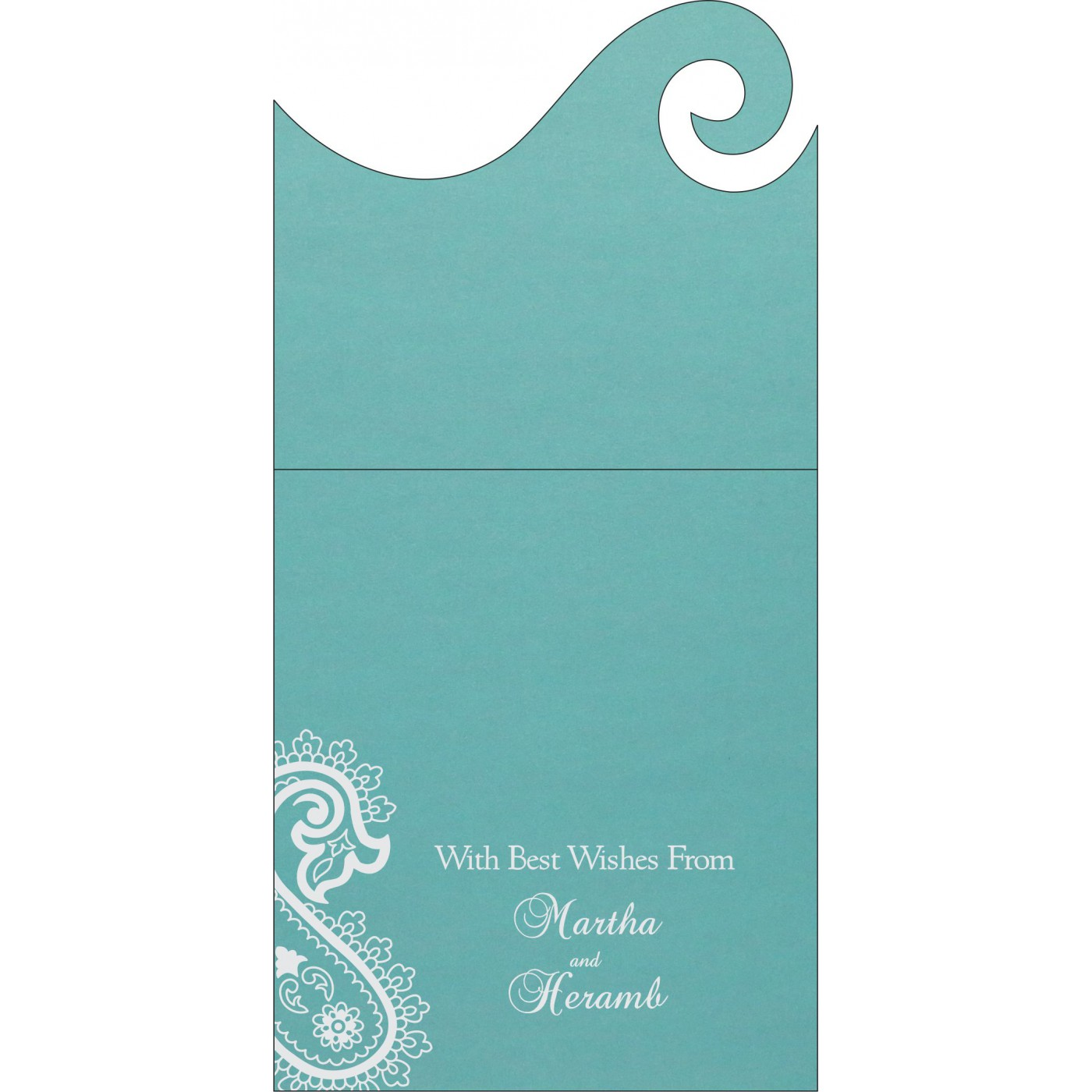 Money Envelopes : CME-1382 - IndianWeddingCards