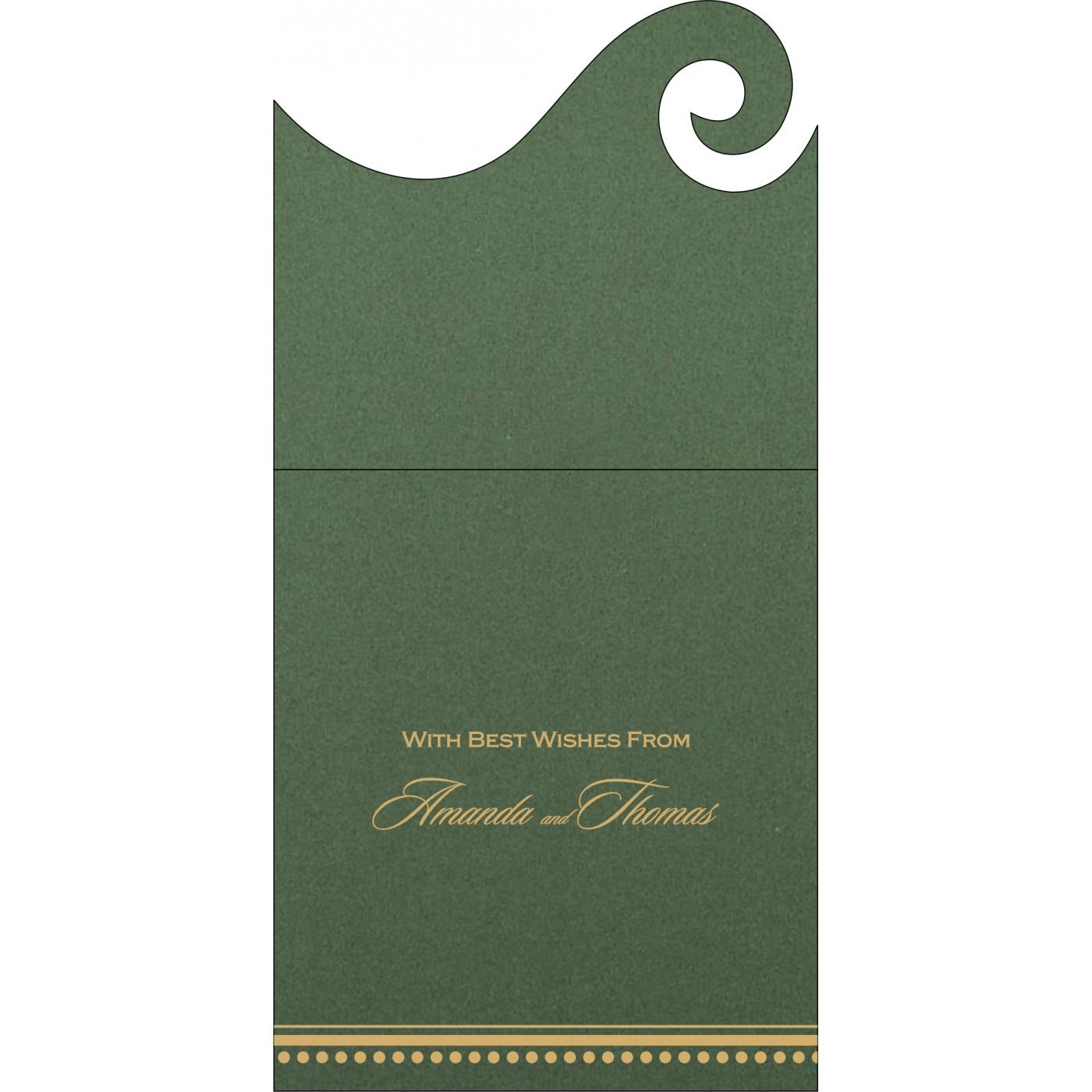 Money Envelopes : CME-1388 - IndianWeddingCards