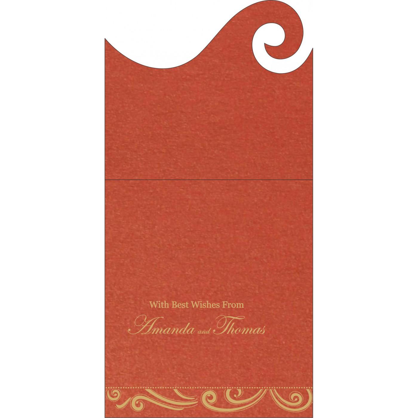 Money Envelopes : CME-1389 - IndianWeddingCards