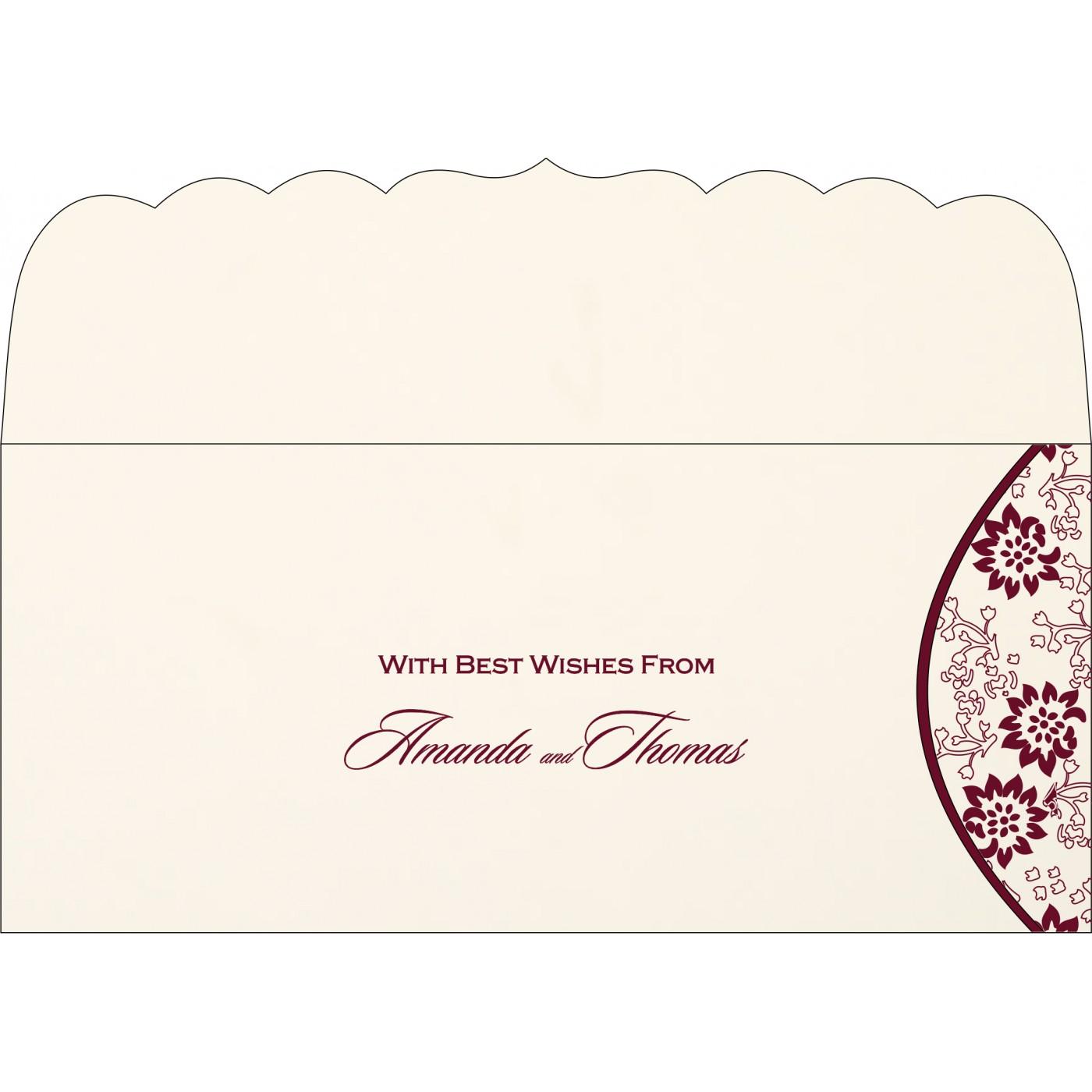 Money Envelopes : CME-1391 - IndianWeddingCards