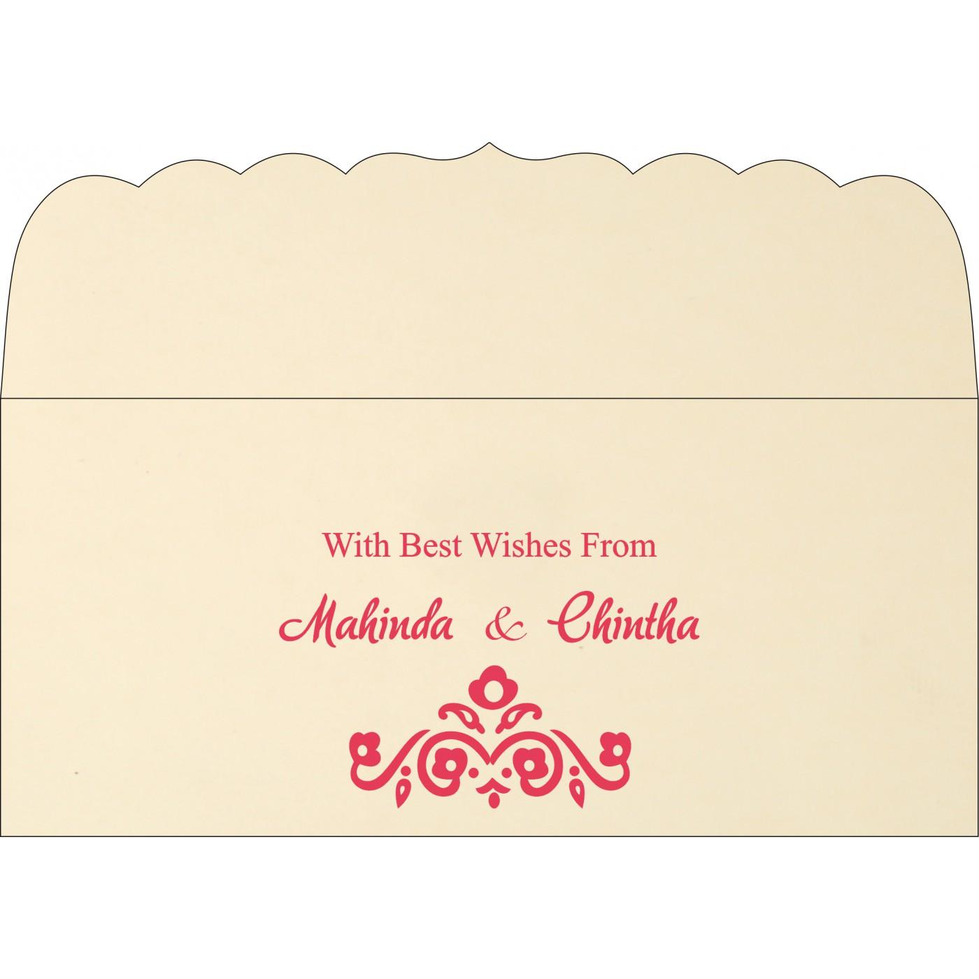 Money Envelopes : CME-1407 - IndianWeddingCards