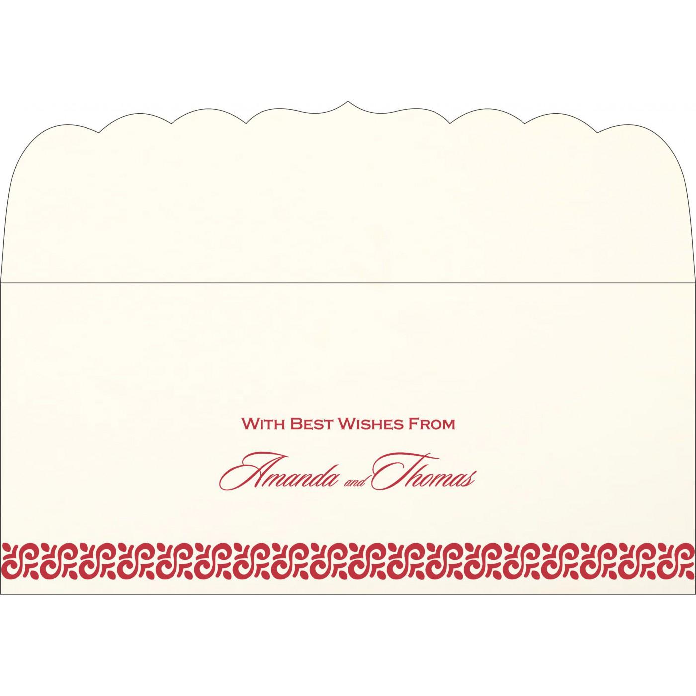 Money Envelopes : CME-1411 - IndianWeddingCards