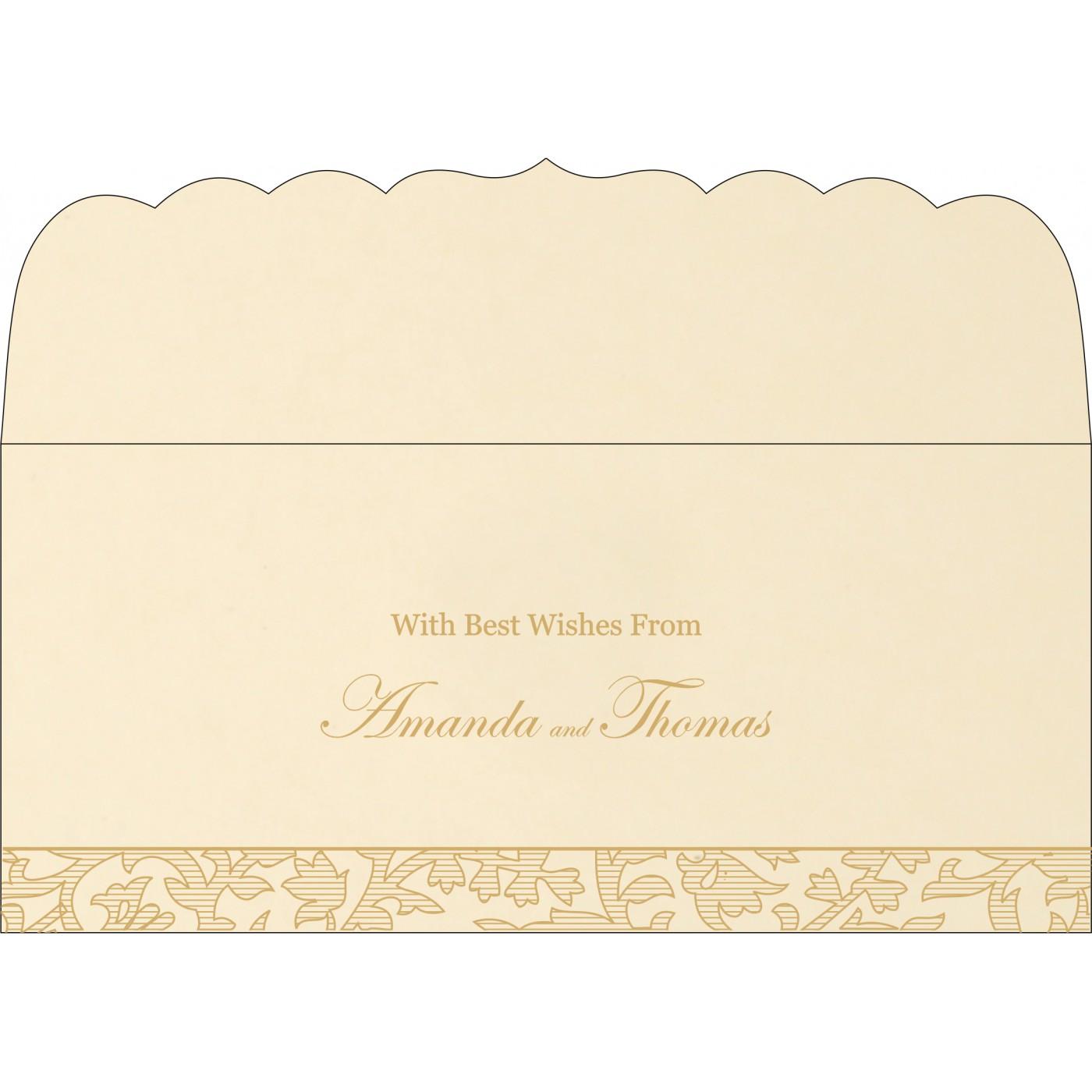 Money Envelopes : CME-1426 - IndianWeddingCards