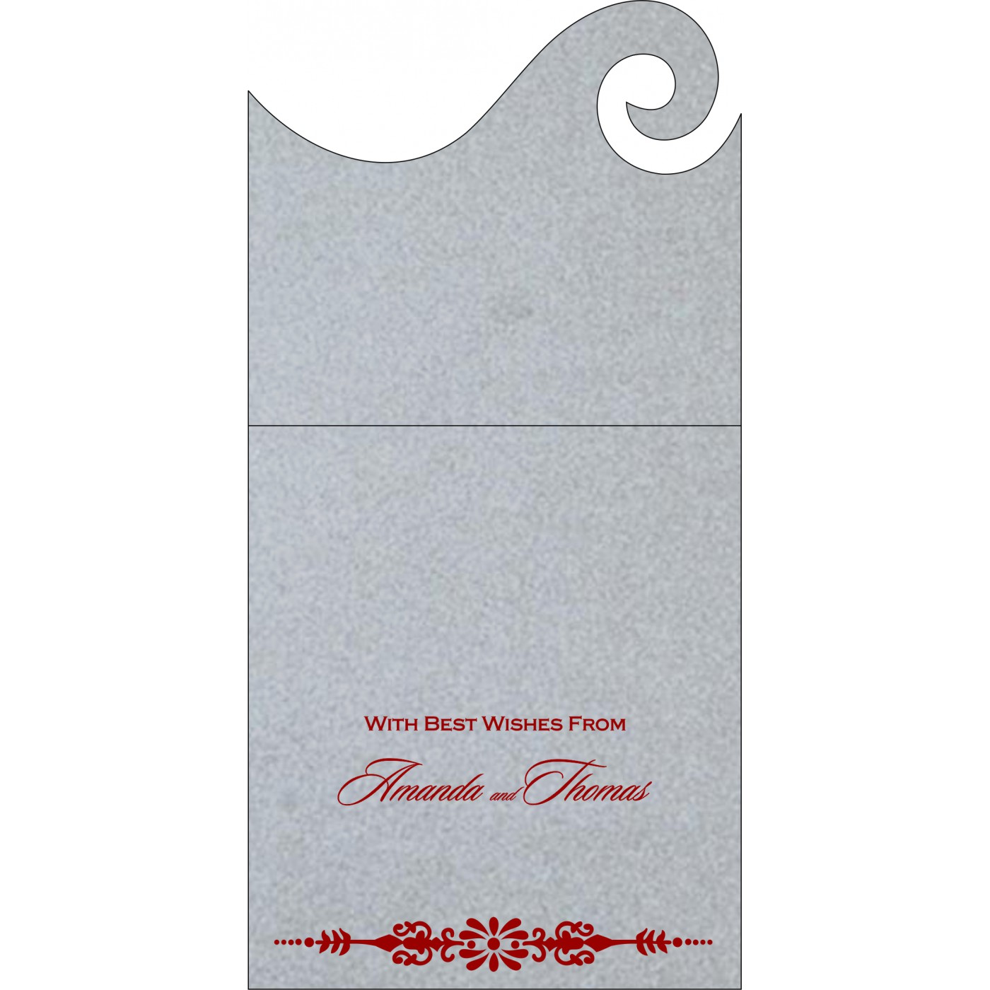 Money Envelopes : CME-1427 - IndianWeddingCards