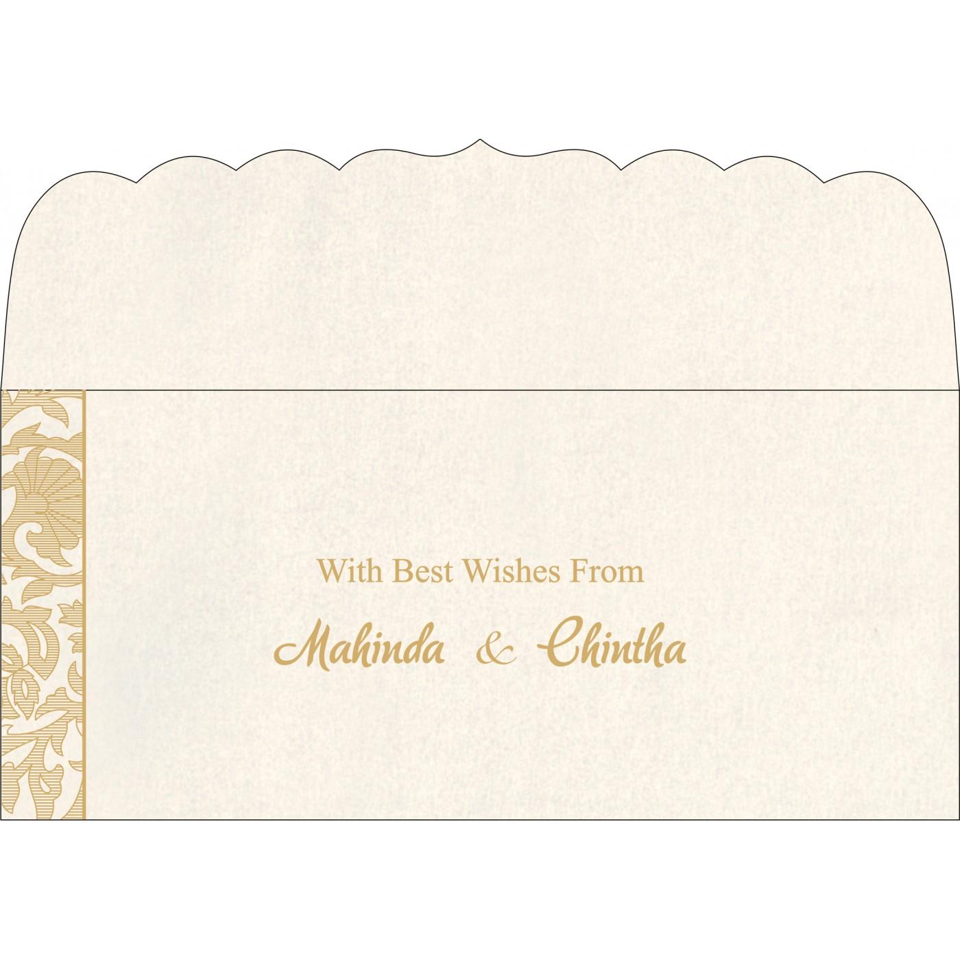 Money Envelopes : CME-1434 - IndianWeddingCards