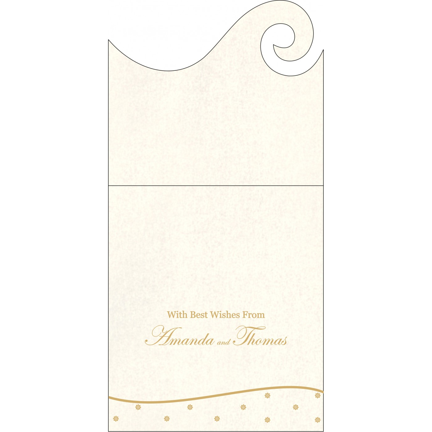 Money Envelopes : CME-1435 - IndianWeddingCards