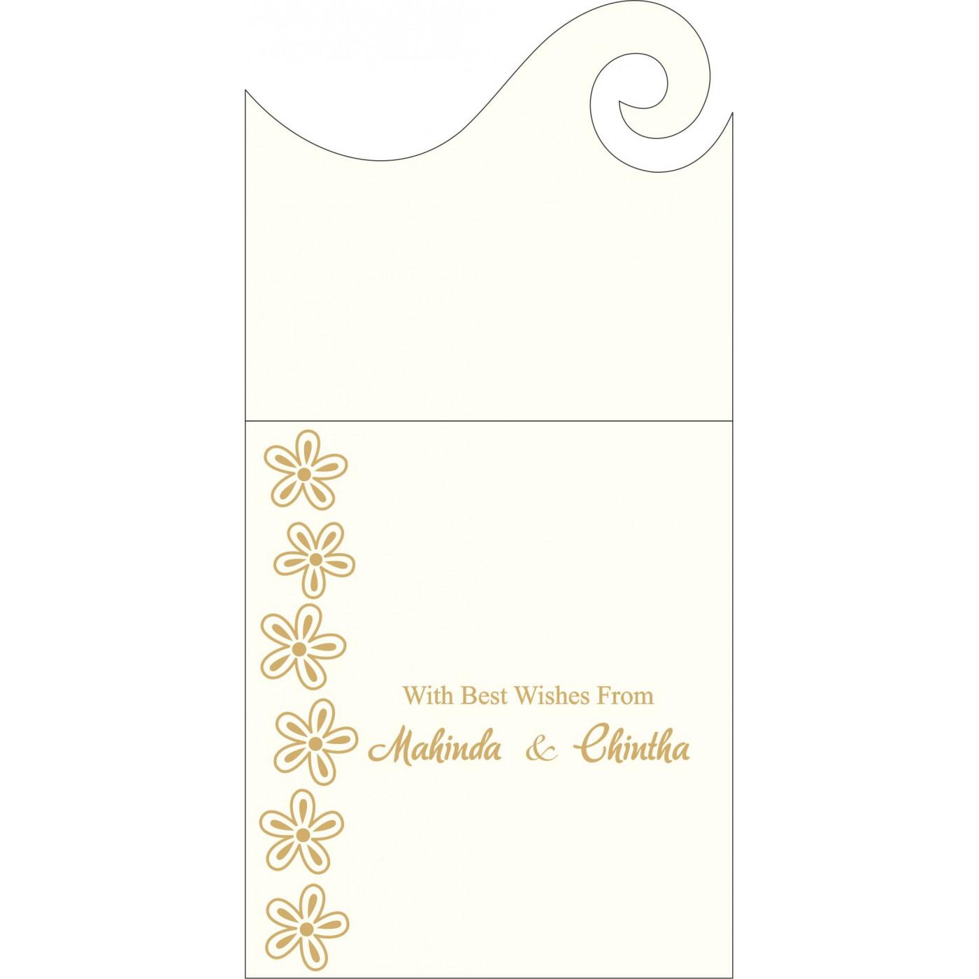 Money Envelopes : CME-1439 - IndianWeddingCards