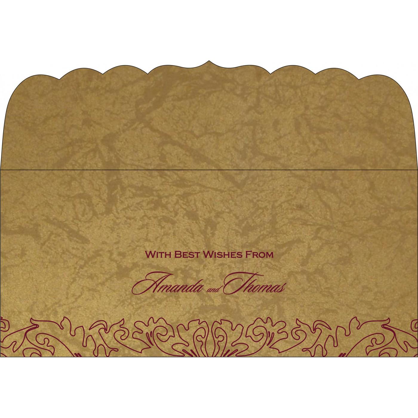 Money Envelopes : CME-1465 - IndianWeddingCards
