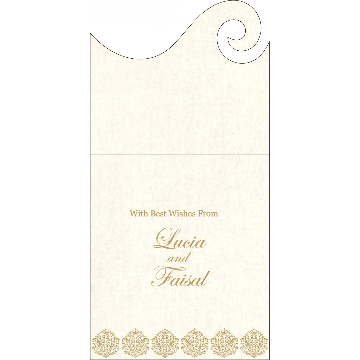 Money Envelopes : CME-1502 - IndianWeddingCards