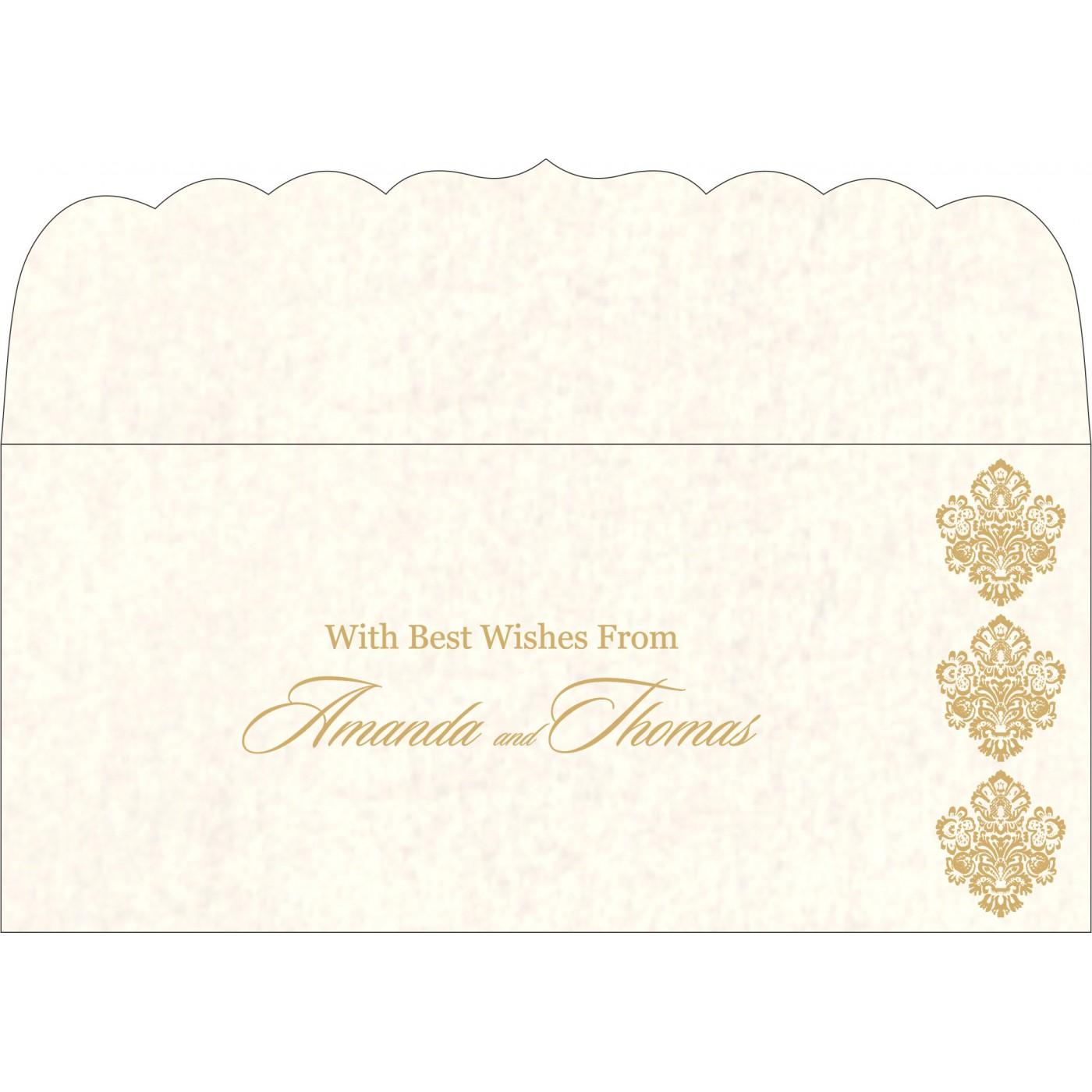 Money Envelopes : CME-1508 - IndianWeddingCards