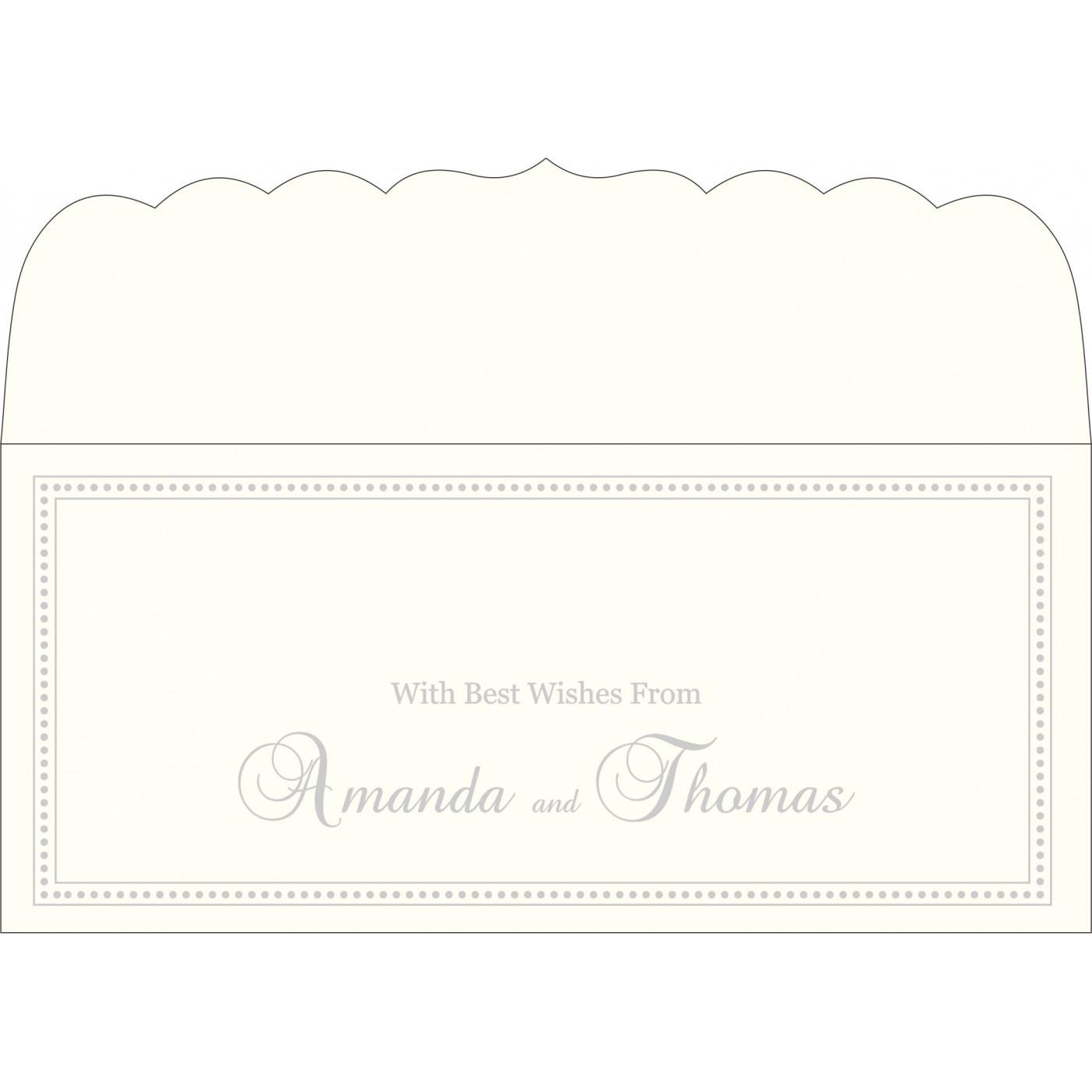 Money Envelopes : CME-2015 - IndianWeddingCards