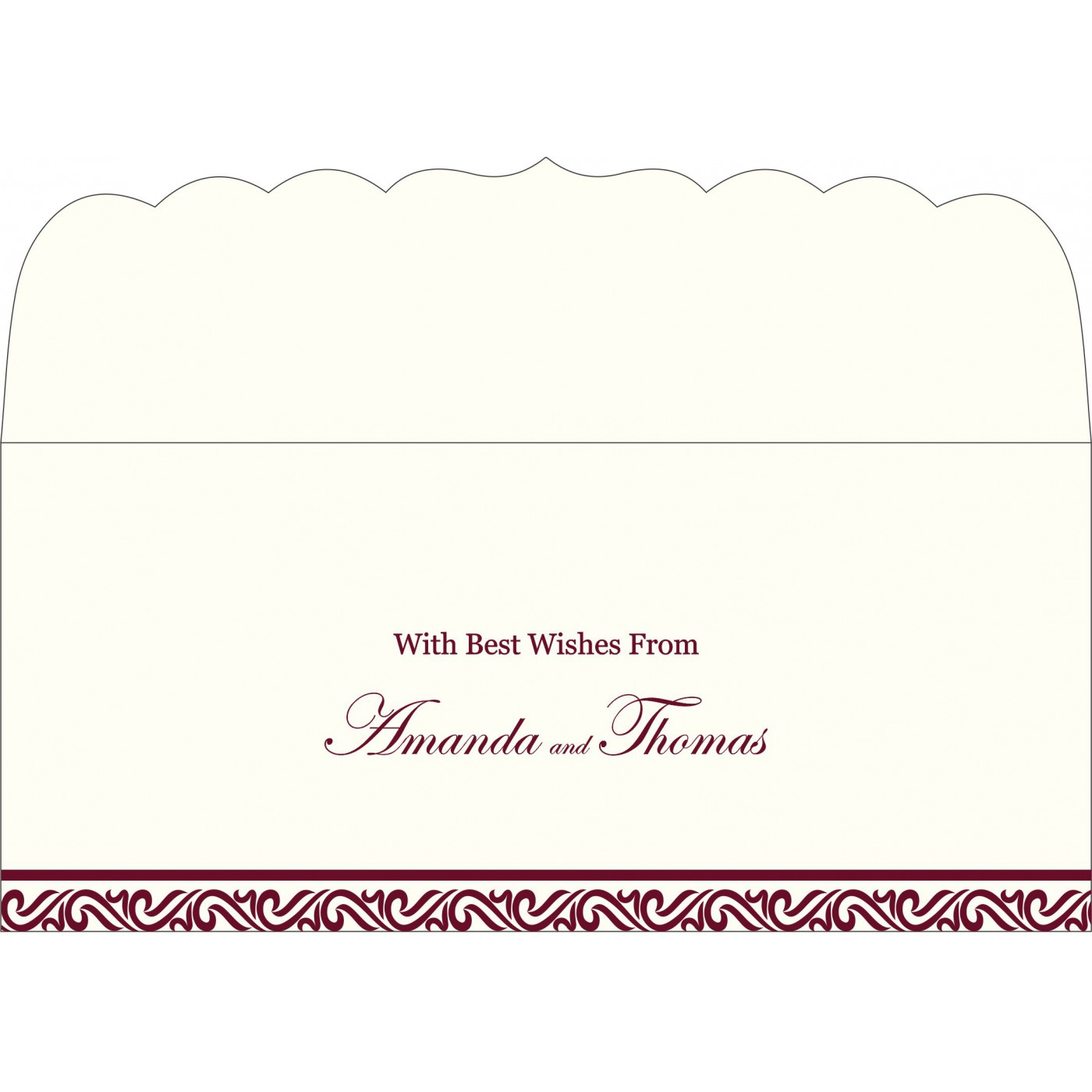 Money Envelopes : CME-2077 - IndianWeddingCards