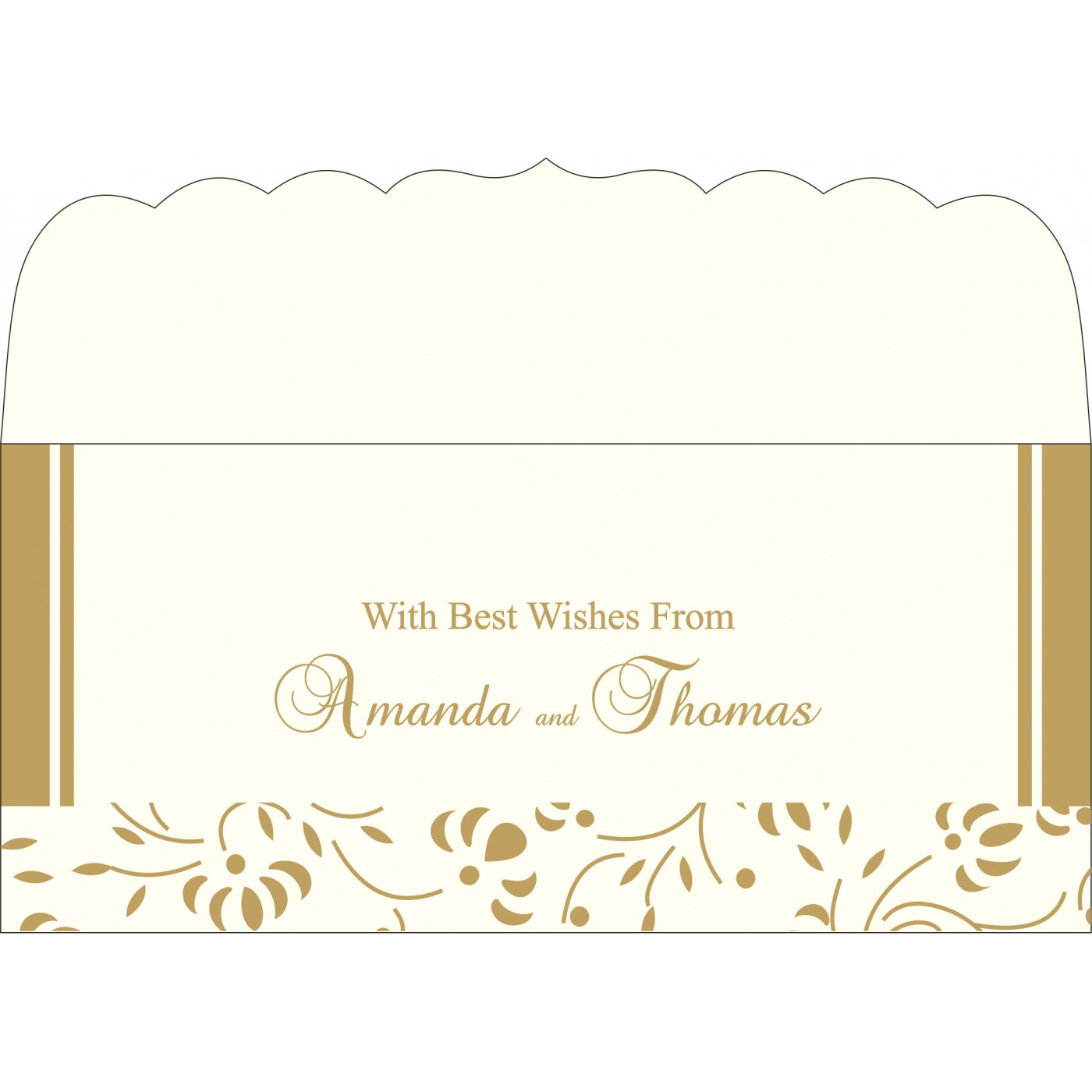 Money Envelopes : CME-2153 - IndianWeddingCards