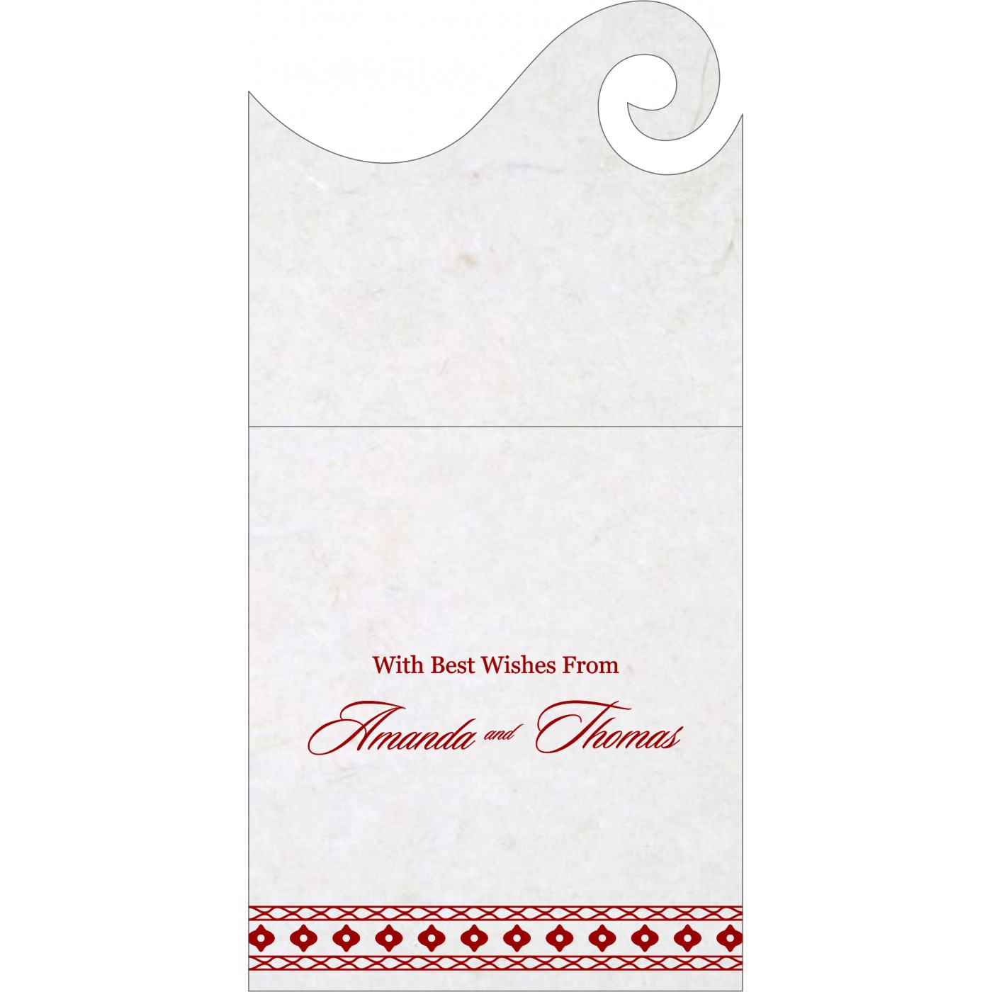 Money Envelopes : CME-5001I - IndianWeddingCards