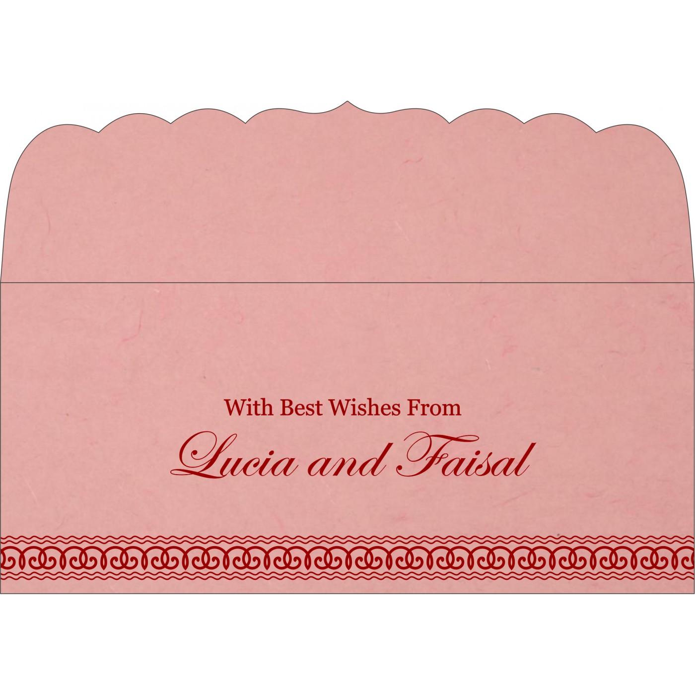 Money Envelopes : CME-5002M - IndianWeddingCards