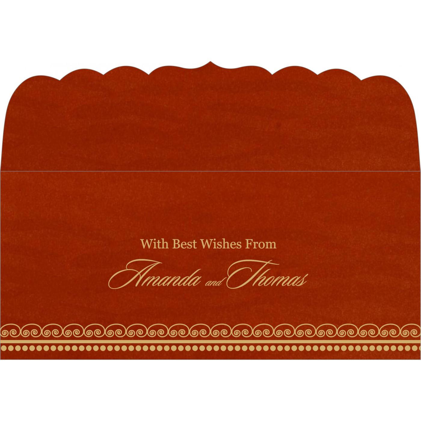 Money Envelopes : CME-5009B - IndianWeddingCards