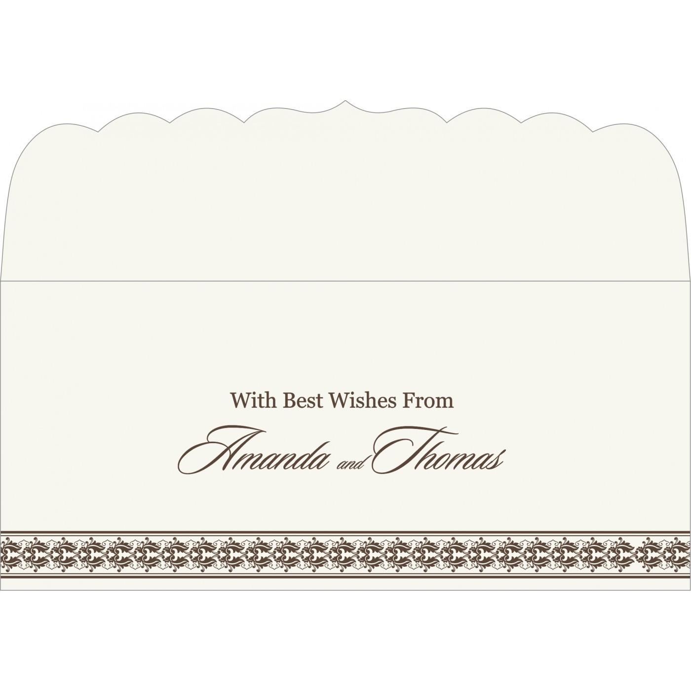 Money Envelopes : CME-5010G - IndianWeddingCards