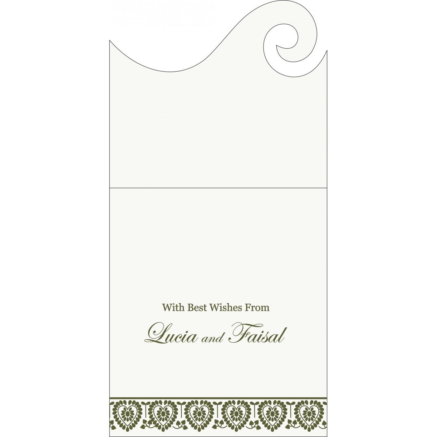 Money Envelopes : CME-5012A - IndianWeddingCards