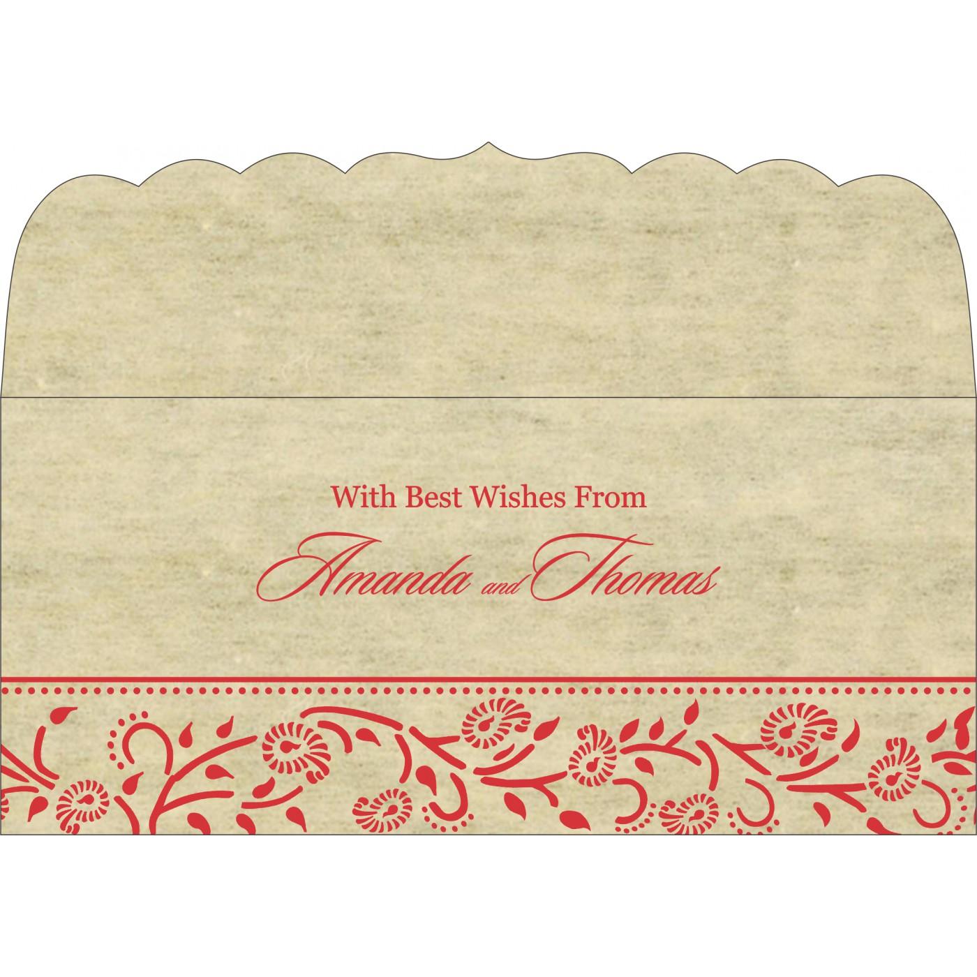 Money Envelopes : CME-8206C - IndianWeddingCards